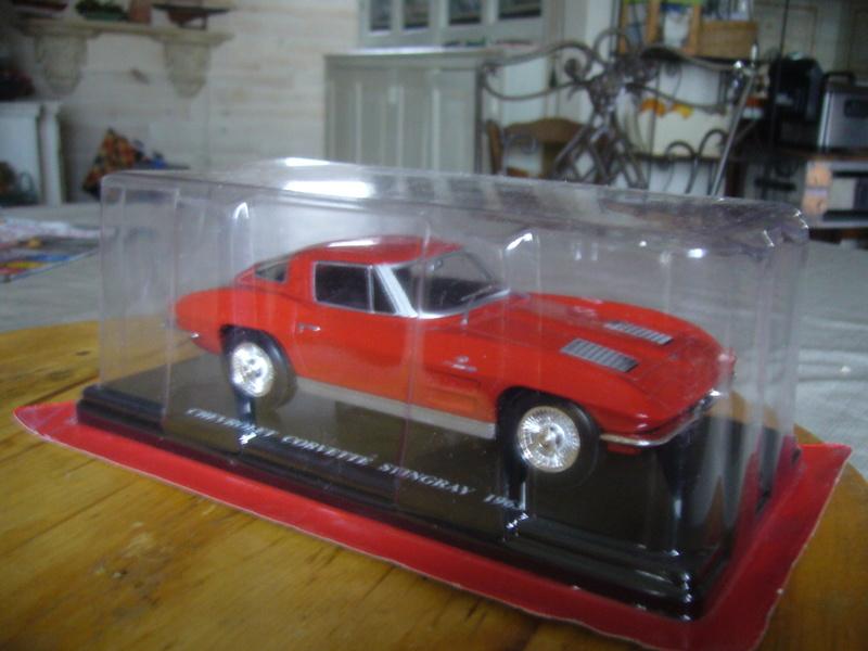 Revell: Chevrolet Corvette 1963 C2 Stingray de chez REVELL P1280020
