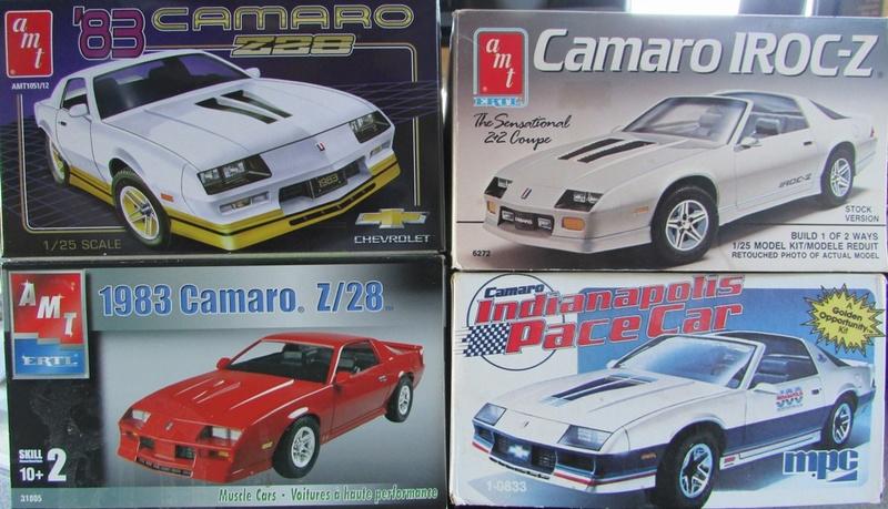 AMT 1983 Camaro Z28 avec un match comparatif!  00213