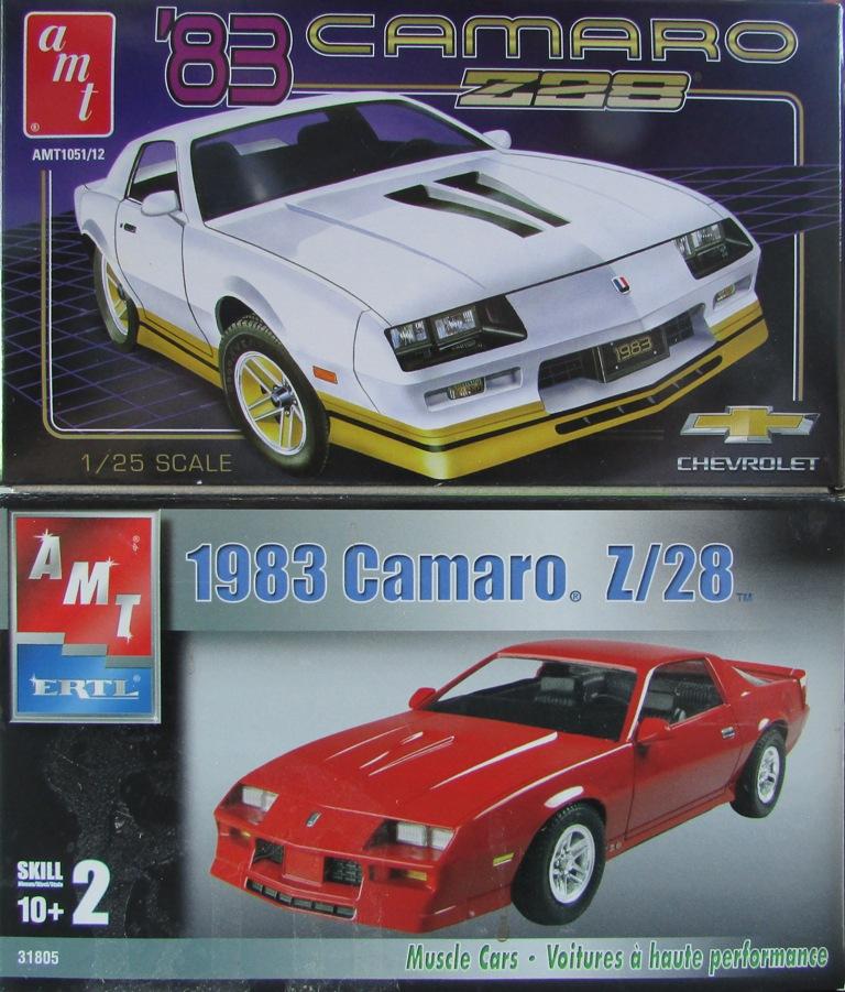 AMT 1983 Camaro Z28 avec un match comparatif!  00312