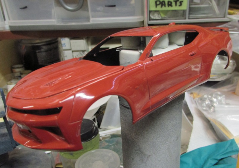 Shop report Camaro SS 2016  00815