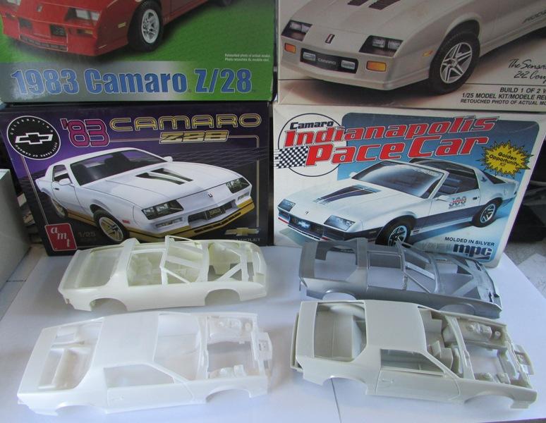 AMT 1983 Camaro Z28 avec un match comparatif!  01713