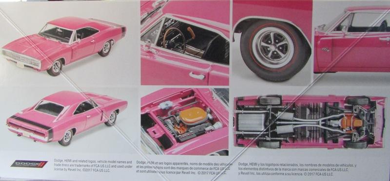 Un nouvel achat, j'ai été sage à Québec! Revell 1970 Dodge charger R/T  02813