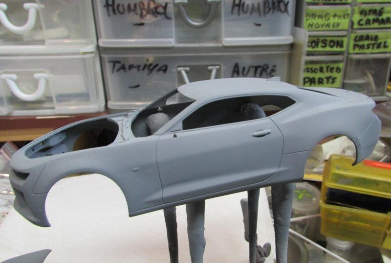 Shop report Camaro SS 2016  03212