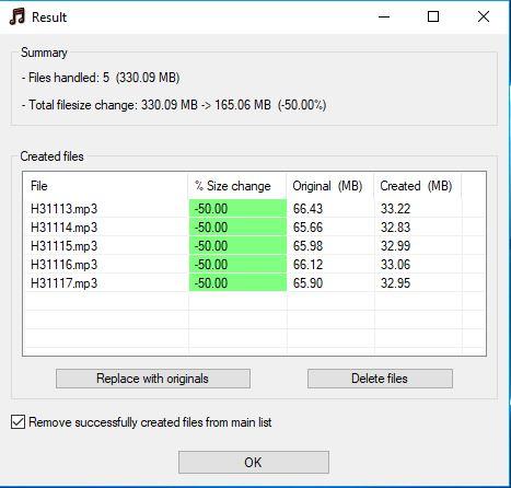 MP3 Quality Modifier - Phần mềm giảm dung lượng file âm thanh Mp3_qu14