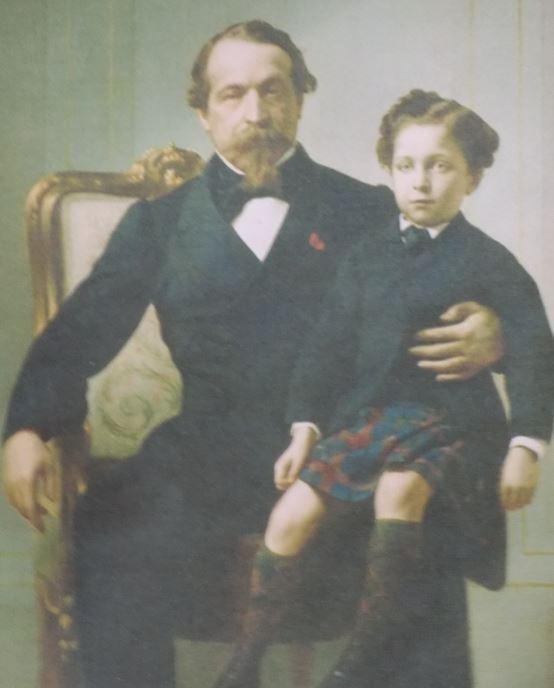 Napoléon III et le Prince impérial N3110