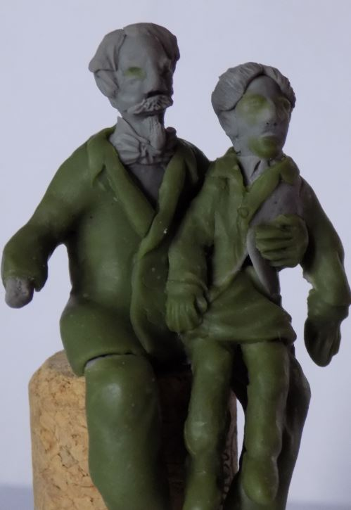 Napoléon III et le Prince impérial N3310