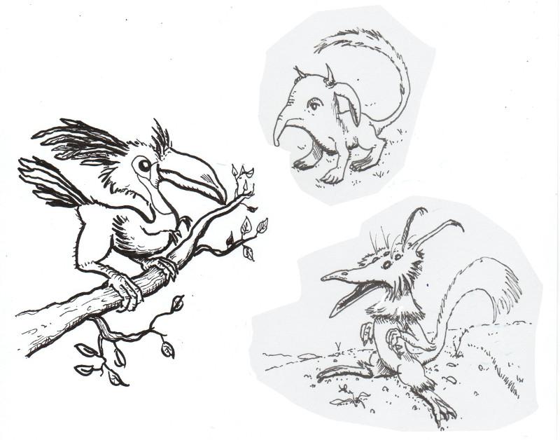 dessin de stefrex - Page 4 Creatu13