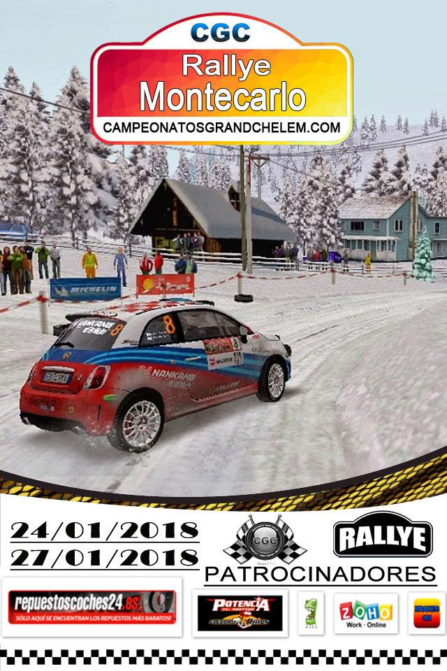 ▄▀▄  Roadbook y confirmación pilotos del rally de Montecarlo 24 y 27/01/2018 ▄▀▄ Log_ra10
