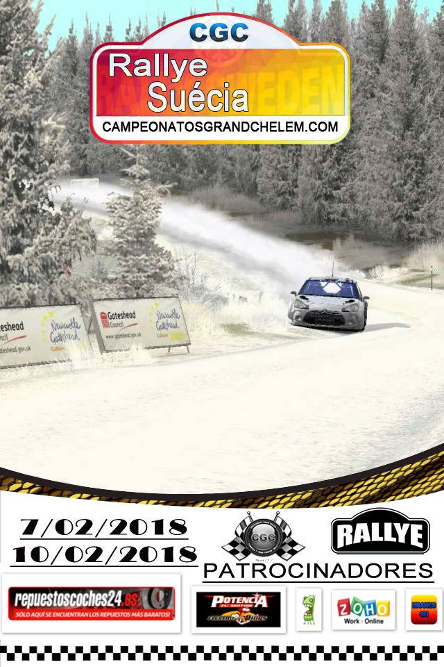 ▄▀▄ Roadbook y confirmación pilotos del rally de Suecia 7 y 10/02/2018 ▄▀ Log_ra11