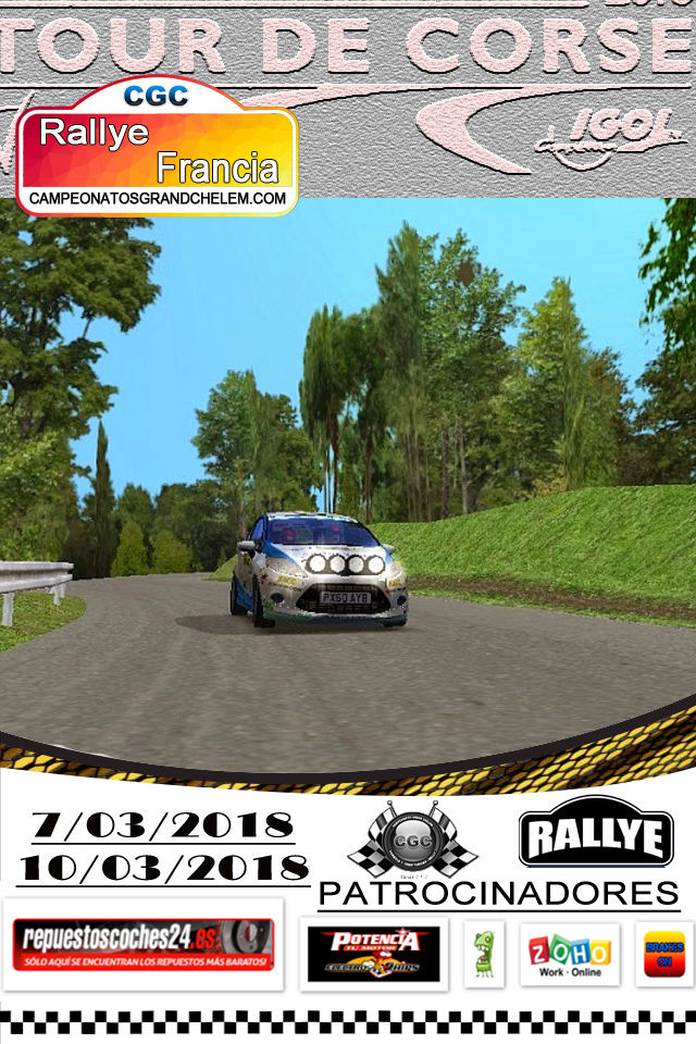 ▄▀▄ Roadbook confirmación pilotos del rally de Francia 7 y 10/02/2018 ▄▀▄  Log_ra14