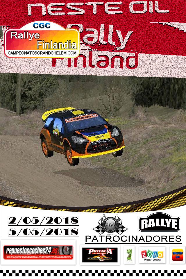 ▄▀▄ Roadbook confirmación pilotos del rally de Finlandia 2-5/05/2018 ▄▀▄  Log_ra19