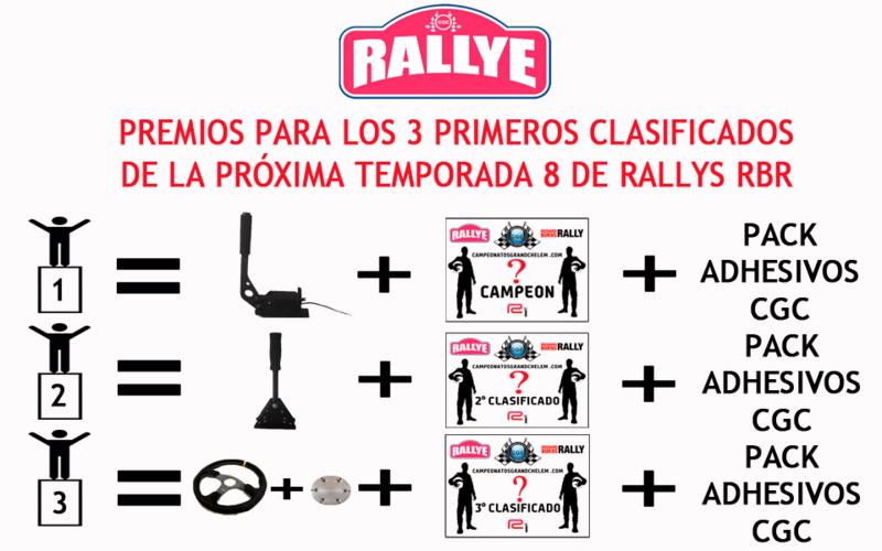 Obsequios/regalos para los 3 primeros clasificados de la próxima T8 de Rallys Pack_r10
