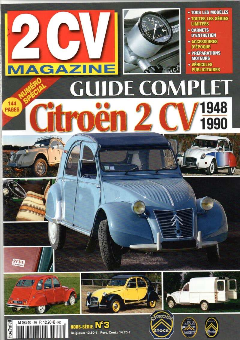 Magazine 70 ANS de la 2CV Img20135