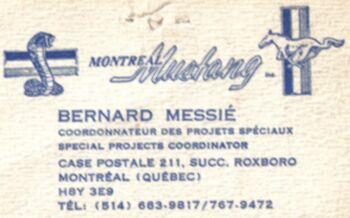 Montréal Mustang dans le temps! 1981 à aujourd'hui (Histoire en photos) 1982mm10