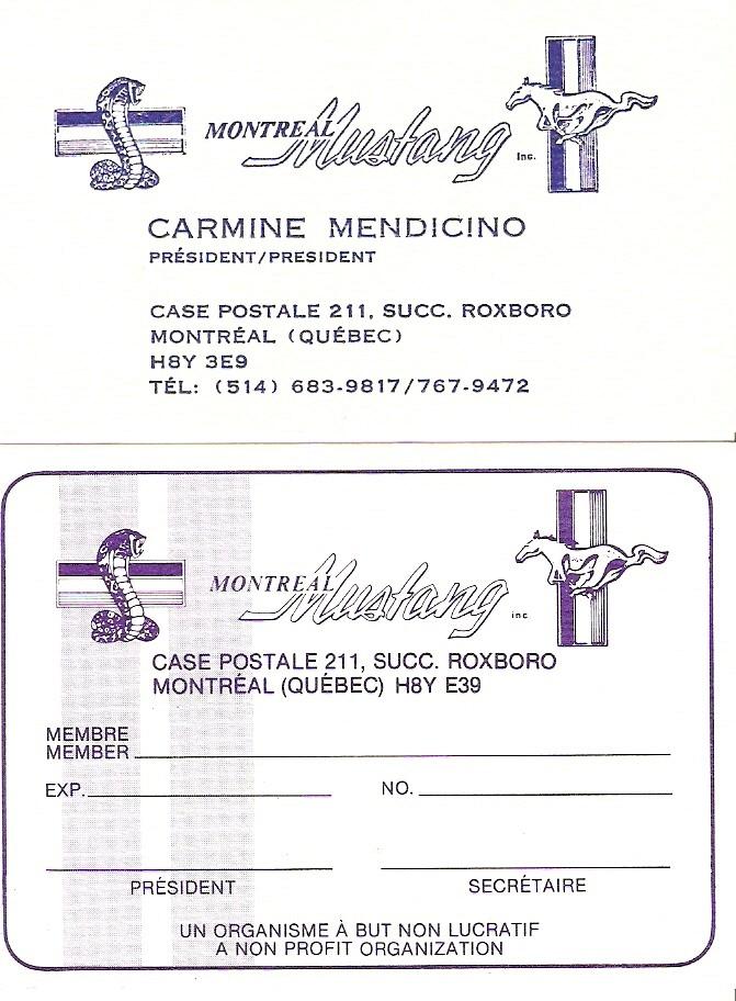 Montréal Mustang dans le temps! 1981 à aujourd'hui (Histoire en photos) 1982mm11