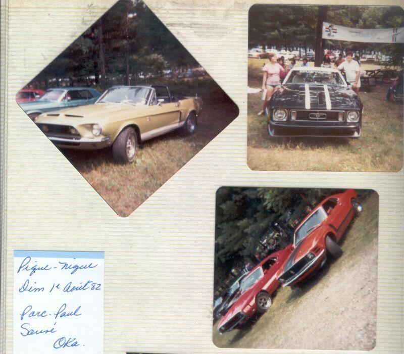 Montréal Mustang dans le temps! 1981 à aujourd'hui (Histoire en photos) 1982mm13