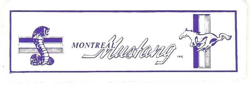 Montréal Mustang dans le temps! 1981 à aujourd'hui (Histoire en photos) Logo_m10