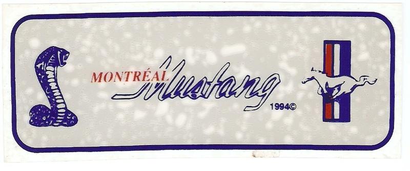 Montréal Mustang dans le temps! 1981 à aujourd'hui (Histoire en photos) Logo_m11