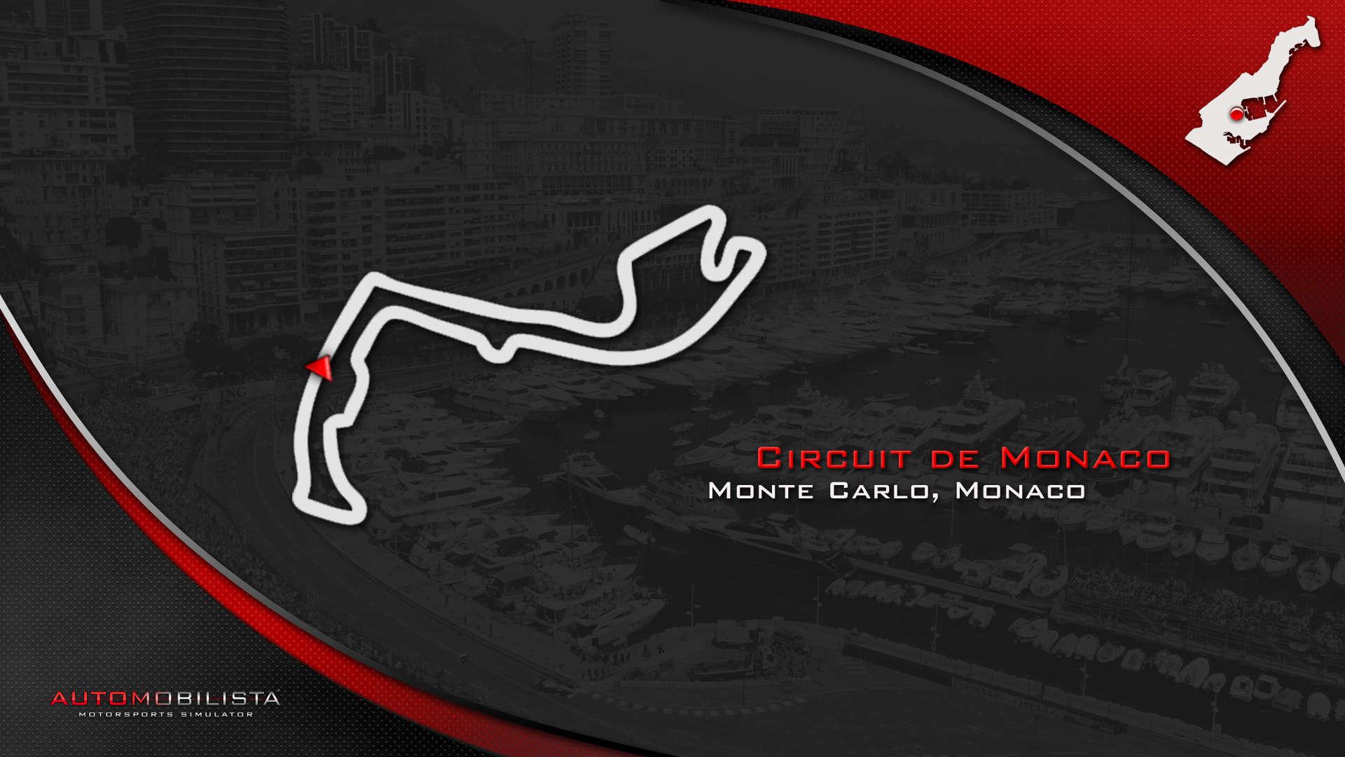 CIRCUITOS F-ONE CON DRS  Monaco11