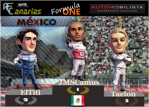 PRESENTACION GP F1 MEXICO Podium10