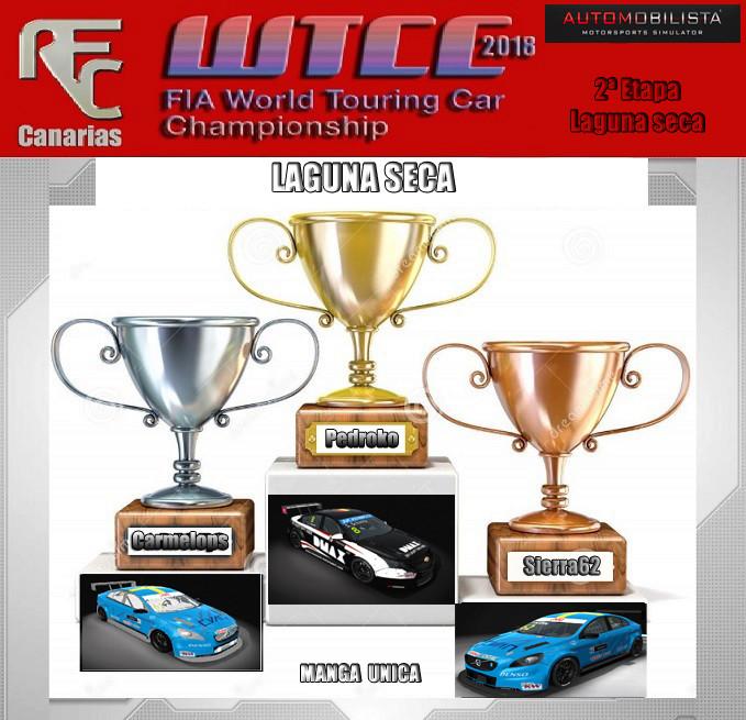 WTCC 2018 -SEGUNDA ETAPA OFICIAL- Podium28
