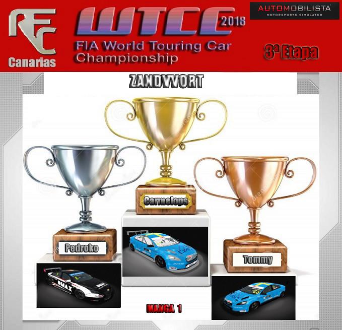 WTCC 2018- TERCERA ETAPA OFICIAL Podium29