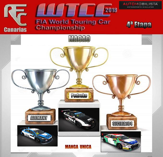WTCC 2018- CUARTA ETAPA OFICIAL Podium31
