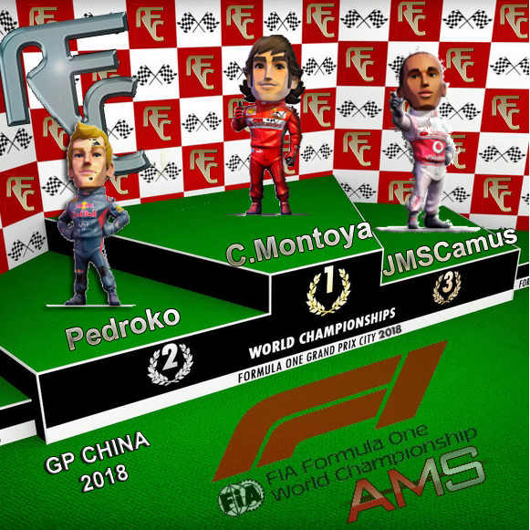 GP CHINA F1 2018 Podium39