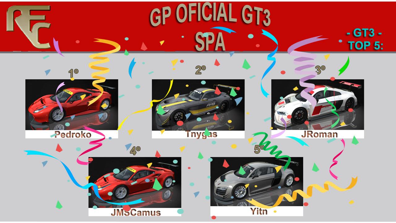 PRIMER GP OFICIAL (GT3) Podium43