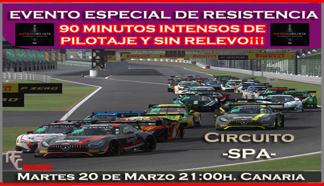 EVENTO ESPECIAL DE RESISTENCIA  Wtcc-211
