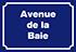 Avenue de la Baie
