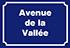 Avenue de la Valée