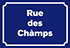 Rue des chàmps