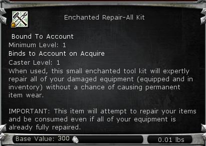 Enchanted Repair-All Kit 112