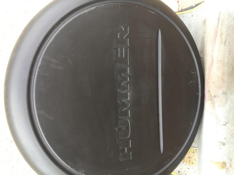 roue - couvercle de  roue de secours hummer h3 Img_8010