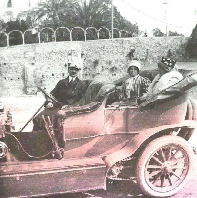 Emil Jellinek & sa fille Mercedes.... 1310