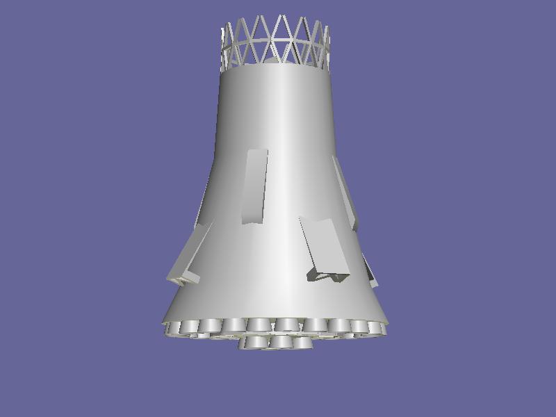 Ma il programma lunare sovietico? N1_boz10