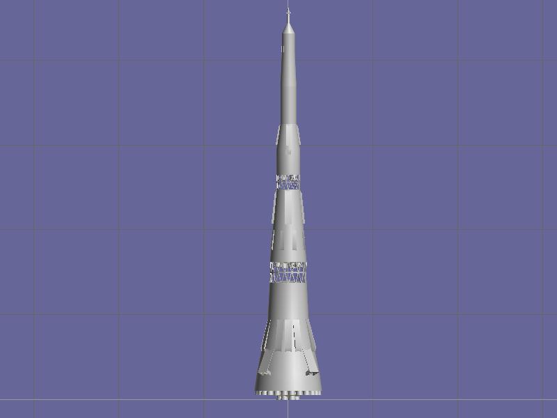 Ma il programma lunare sovietico? N1_boz15