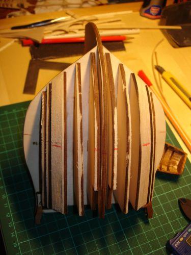 harald60 Baubericht der 2te Victory aus Holz Bug_au10