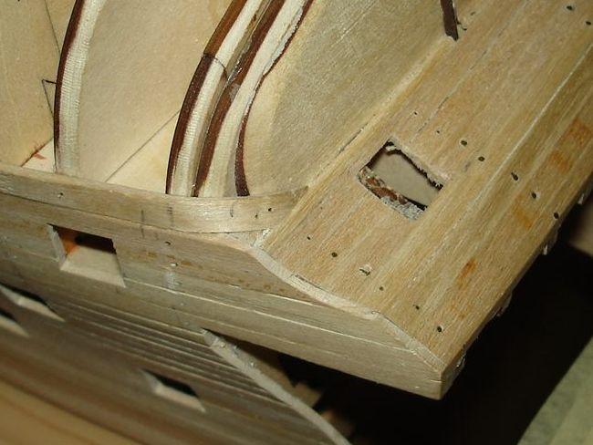 harald60 Baubericht der 2te Victory aus Holz Heck_e10