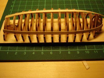 harald60 Baubericht der 2te Victory aus Holz Langbo11