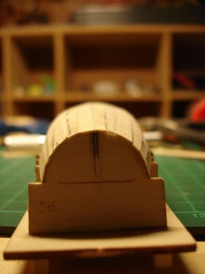 harald60 Baubericht der 2te Victory aus Holz Langbo12