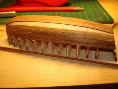 harald60 Baubericht der 2te Victory aus Holz Langbo17