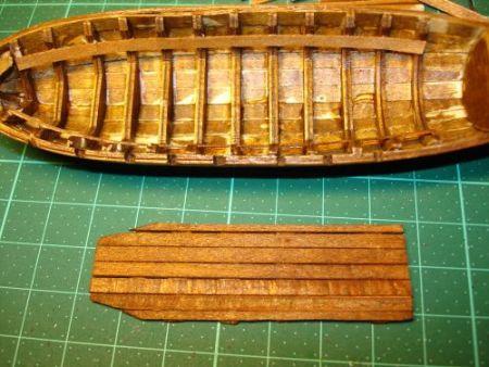 harald60 Baubericht der 2te Victory aus Holz Langbo21