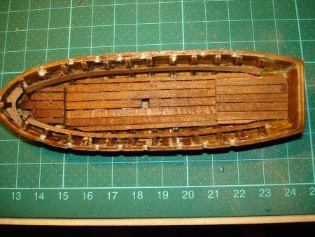 harald60 Baubericht der 2te Victory aus Holz Langbo23