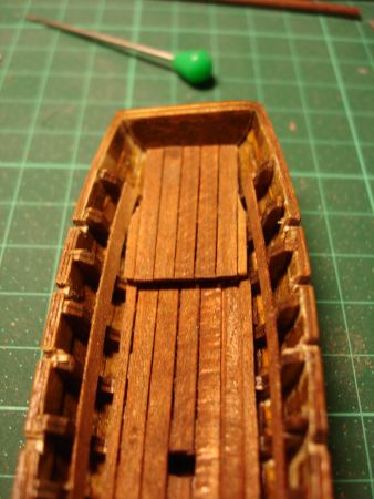 harald60 Baubericht der 2te Victory aus Holz Langbo24