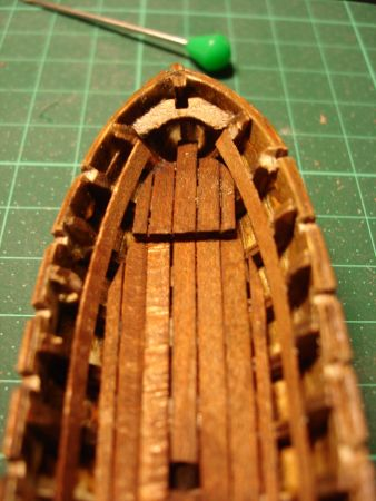 harald60 Baubericht der 2te Victory aus Holz Langbo25