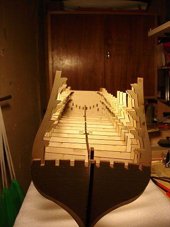 harald60 Baubericht der 2te Victory aus Holz Rumpf_11