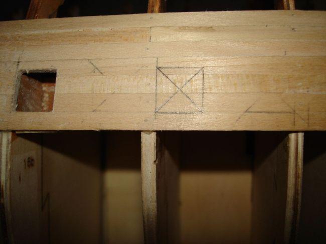 harald60 Baubericht der 2te Victory aus Holz Stueck10
