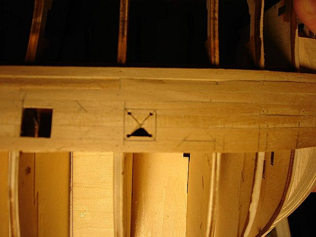 harald60 Baubericht der 2te Victory aus Holz Stueck12